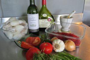 ingrédients seiche a la setoise