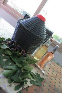 Préparation vin de figues