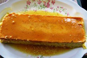 crème caramel au safran recette